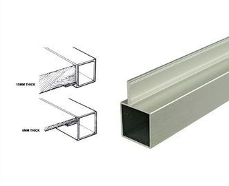 الصين 25*25mm Powder Coated Aluminum Square Tubing Frame With Connector For Display Shelf موزع